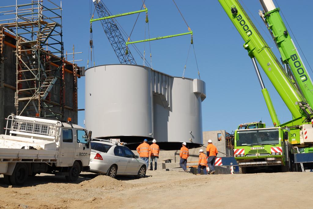 Western Corridor Bundamba Advanced Water Treatment Facility Clarifying Tanks