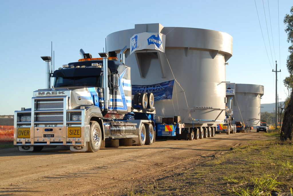 Western Corridor Bundamba Advanced Water Treatment Facility Clarifying Tanks